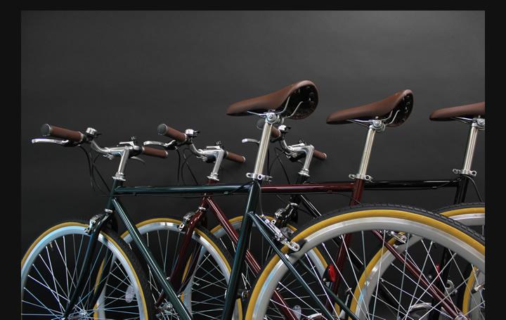 ... チェーン展開している自転車