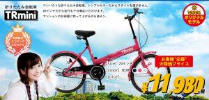 折りたたみ自転車TR-mini
